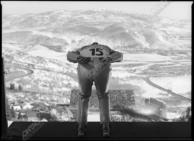 Men's 120k Ski Jump, Winter Olympics, Park City, Utah, USA, February 2002