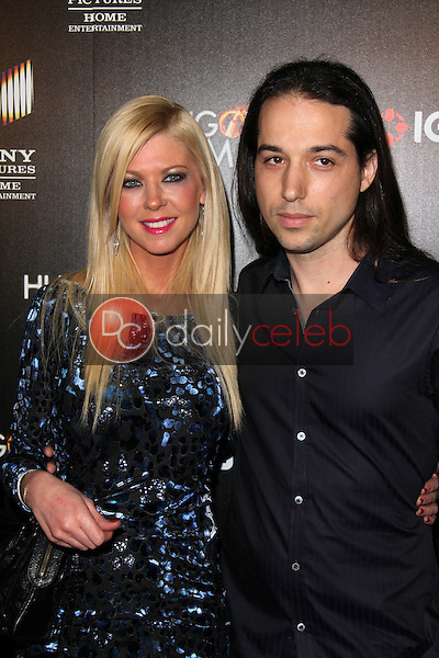 Tara Reid, Erez Eisen<br /> at &quot;The Hungover Games&quot; Premiere, TCL Chinese 6, Hollywood, CA 02-11-14<br /> David Edwards/Dailyceleb.com 818-249-4998