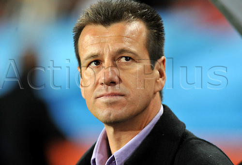 28 06 2010  National coach Carlos Dunga Brazil  2010 World Cup South Africa 2010 Ellis Park Stage Johannesburg 28 06 2010