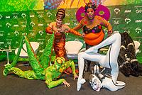 """SÃO PAULO, SP, 05.11.2018 - CIRQUE DU SOLEIL - Entrevista do criativos brasileiros e elenco durante coletiva de imprensa do espetáculo """"Ovo"""" do Cirque du Soleil na manhã desta segunda-feira, 05, na Casa Fasano Buffet no bairro do Itaim Bibi em São Paulo. (Foto: Anderson Lira\Brazil Photo Press)"""