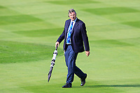 European Tour referee Kevin Feeney on the 7th fairway during Day 1 Foursomes at the Solheim Cup 2019, Gleneagles Golf CLub, Auchterarder, Perthshire, Scotland. 13/09/2019.<br /> Picture Thos Caffrey / Golffile.ie<br /> <br /> All photo usage must carry mandatory copyright credit (© Golffile | Thos Caffrey)