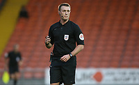 Referee Thomas Bramall<br /> <br /> Photographer Stephen White/CameraSport<br /> <br /> The EFL Sky Bet League One - Blackpool v Burton Albion - Saturday 24th November 2018 - Bloomfield Road - Blackpool<br /> <br /> World Copyright © 2018 CameraSport. All rights reserved. 43 Linden Ave. Countesthorpe. Leicester. England. LE8 5PG - Tel: +44 (0) 116 277 4147 - admin@camerasport.com - www.camerasport.com