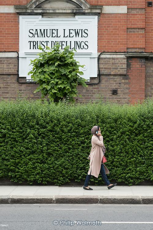 Samuel Lewis Trust Dwellings, built in 1915, Chelsea, London.