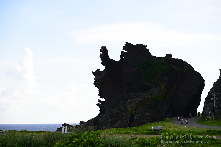 Orchid Island (蘭嶼), Taiwan -- Dragon Head Rock at the southern tip of the island.