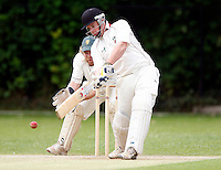 S Hickingbotham bats for Hornsey during the Middlesex County League Division two game between Shepherds Bush and Hornsey at Bromyard Avenue, East Acton on Sat July 23, 2011