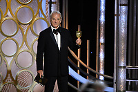 Bill Murray presents the Golden Globe Award for Best Motion Pictue, Musical or Comedy, during the live telecast at the 76th Annual Golden Globe Awards at the Beverly Hilton in Beverly Hills, CA on Sunday, January 6, 2019.<br /> <br /> <br /> <br /> <br /> <br /> *Editorial Use Only*<br /> CAP/PLF/HFPA<br /> Image supplied by Capital Pictures