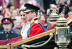 Royal Wedding 29.4.11.Duke and Duchess of Cambridge  Prince William and Kate Middleton...Picture by Gavin Rodgers/ Pixel 8000 ..07917221968