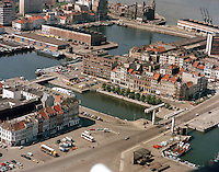 Juni 1986. Eilandje in Antwerpen.