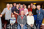 Martin Fitzpatrick from Cahills Park celebrating his birthday in the Brogue Inn on Friday night.<br /> Seated l to r: Jayden O&rsquo;Brien, Martin Fitzpatrick and Esther Brosnan.<br /> Back l to r: June McCauley, Karen Brosnan, Alan Murphy, Julie Fitzpatrick, Carol and Frank Stone, Michaela O&rsquo;Brien, Mickey Brosnan, Jade, David and Patsy Stone and Josh Mahoney.