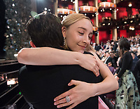 Saoirse Ronan, Oscar&reg; nominee for Best Actress in a Leading Role, at The 90th Oscars&reg; at the Dolby&reg; Theatre in Hollywood, CA on Sunday, March 4, 2018.<br /> *Editorial Use Only*<br /> CAP/PLF/AMPAS<br /> Supplied by Capital Pictures