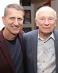 Tom Kirdahy and Terrence McNally during The DGF's 14th Biannual Madge Evans & Sidney Kingsley Awards at the Dramatists Guild Fund headquarters on April 4, 2016 in New York City.