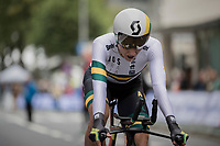 Katrin Garfoot (AUS/Orica-Scott)<br /> <br /> Women Elite Individual Time Trial<br /> <br /> UCI 2017 Road World Championships - Bergen/Norway