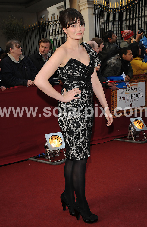 "**ALL ROUND PICTURES FROM SOLARPIX.COM**.**WORLDWIDE SYNDICATION RIGHTS**.Authors and celebrities arrive for the Galaxy British Book Awards or ""Nibbies"" at the Grosvenor House Hotel in London..This pic:  Gizzi Erskine.JOB REF:  8765    SSD     DATE:  04.04.09.**MUST CREDIT SOLARPIX.COM OR DOUBLE FEE WILL BE CHARGED**.**ONLINE USAGE FEE GBP 50.00 PER PICTURE - NOTIFICATION OF USAGE TO PHOTO @ SOLARPIX.COM**.**CALL SOLARPIX : +34 952 811 768 or LOW RATE FROM UK 0844 617 7637**"