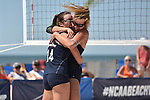 GULF SHORES, AL - MAY 07: Pepperdine University takes on the University of Hawaii during the Division I Women's Beach Volleyball Championship held at Gulf Place on May 7, 2017 in Gulf Shores, Alabama. (Photo by Stephen Nowland/NCAA Photos via Getty Images)