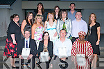 GRADUATION CLASS: The Graduates of the Social Studies Class (post primary) at their Graduation ceremony at the college on Thursday night seated l-r: Dara Noonan, Rachel Browne, Mark Morrissey and Roseline E. Akpobi. Centre l-r: Elaine Griffin, Shona Houlihan, Michelle O'Connor, Christina Somers, Brian O'Shea and Myrna Egan, (course coordinator). back l-r: Siobhan Oke, Marian O'Dowd and Garrett Moriarty.    Copyright Kerry's Eye 2008