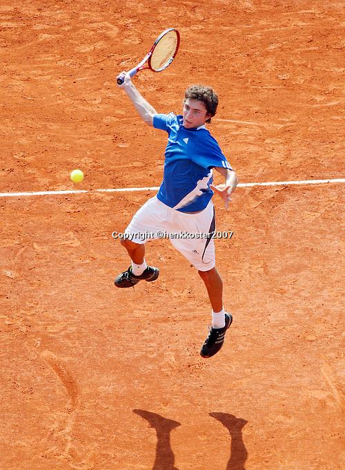 17-4-07, Monaco,Master Series Monte Carlo, Gilles  Simon