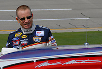 Apr 29, 2006; Talladega, AL, USA; Nascar Nextel Cup driver Mark Martin of the (6) AAA Ford Fusion during qualifying for the Aarons 499 at Talladega Superspeedway. Mandatory Credit: Mark J. Rebilas-US PRESSWIRE Copyright © 2006 Mark J. Rebilas..