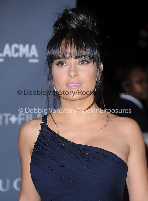 Salma Hayek at The LACMA 2012 Art + Film Gala held at LACMA in Los Angeles, California on October 27,2012                                                                   Copyright 2012  DVS / Hollywood Press Agency