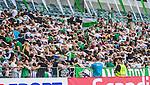 Stockholm 2014-05-24 Fotboll Superettan Hammarby IF - Varbergs BoIS FC  :  <br /> Hammarbys supportrar dansar p&aring; l&auml;ktaren med ryggen mot planen efter att Pablo Pinones-Arce gjort 2-0<br /> (Foto: Kenta J&ouml;nsson) Nyckelord:  Superettan Tele2 Arena HIF Bajen Varberg BoIS supporter fans publik supporters jubel gl&auml;dje lycka glad happy