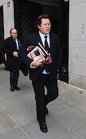 www.acepixs.com<br /> <br /> January 23 2017, New York City<br /> <br /> Arpad Busson leaves Manhattan Supreme Court during the latest round in his custody battle with ex-wife Uma Thurman on January 23 2017 in New York City<br /> <br /> By Line: Curtis Means/ACE Pictures<br /> <br /> <br /> ACE Pictures Inc<br /> Tel: 6467670430<br /> Email: info@acepixs.com<br /> www.acepixs.com