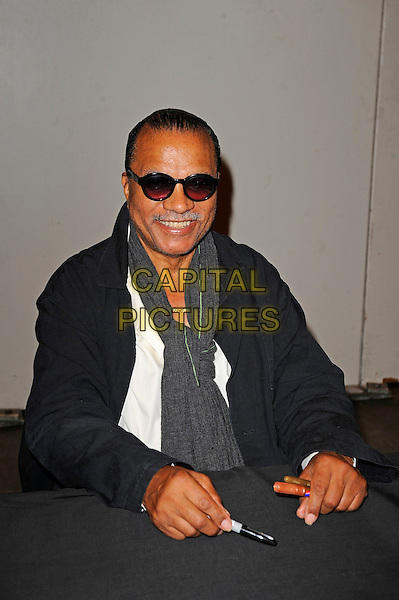 LONDON, ENGLAND - JULY 12: Billy Dee Williams attending London Film and Comic Con 2014 at Earls Court on July 12, 2014 in London, England.<br /> CAP/MAR<br /> &copy; Martin Harris/Capital Pictures
