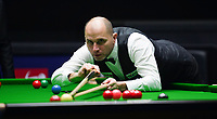 31st October 2019, Yushan, Jiangxi Province, China; Joe Perry of England competes during the round of 16 match against his compatriot Judd Trump at 2019 Snooker World Open in Yushan