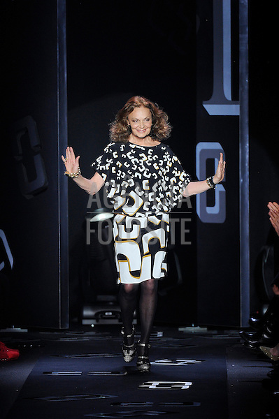 New York, EUA &ndash; 10/02/2013 - Desfile de DVF durante o New York Fashion Week  -  Inverno 2013. <br /> Foto: Firstview/FOTOSITE