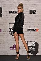 Hailey Baldwin<br /> MTV EMA Awards 2017 in Wembley, London, England on November 12, 2017<br /> CAP/PL<br /> &copy;Phil Loftus/Capital Pictures
