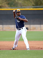 Eguy Rosario - San Diego Padres 2018 spring training (Bill Mitchell)