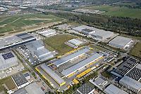 Gewerbegebiet Allermoehe: EUROPA, DEUTSCHLAND, HAMBURG, (GERMANY), 05.05.2007:Gewerbegebiet Allermoehe, Arbeit, Arbeitsplatz, Logistik, Ware, Umschlag, Lagerung, Gewerbe, an einem Platz, Raum, Uebersicht, Rungedamm, A25, Marschenlinie, Feldhofe, <br /> Luftbild, Luftaufname, Luftansicht<br /> Ueberblick, Industrie, Umwelt, Haus, Haeuser, Gebaeude, Halle, Hallen,Industriegebaeude, Strasse, Strassen, Natur # aerial photo, aerial photograph,  building, building market, buildings, digest, edifice, environment, europe, germany, home, house, houses, industrial estate, industrial park, industry, light way, manufacture, nature, oversight, overview, road, roads, street, street address, streets, survey, synopsis <br />  c o p y r i g h t : A U F W I N D - L U F T B I L D E R . de<br /> G e r t r u d - B a e u m e r - S t i e g 1 0 2, 2 1 0 3 5 H a m b u r g , G e r m a n y P h o n e + 4 9 (0) 1 7 1 - 6 8 6 6 0 6 9 E m a i l H w e i 1 @ a o l . c o m w w w . a u f w i n d - l u f t b i l d e r . d e<br /> K o n t o : P o s t b a n k H a m b u r g <br /> B l z : 2 0 0 1 0 0 2 0  K o n t o : 5 8 3 6 5 7 2 0 9<br /> C o p y r i g h t n u r f u e r j o u r n a l i s t i s c h Z w e c k e, keine P e r s o e n l i c h ke i t s r e c h t e v o r h a n d e n, V e r o e f f e n t l i c h u n g n u r m i t H o n o r a r n a c h M F M, N a m e n s n e n n u n g u n d B e l e g e x e m p l a r !