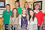 Pictured at the Lissivigeen Community Alert party in Darby O'Gills Hotel, Killarney on Friday night were Sinead Lehane, Amy O'Sullivan, Orla Lehane, Tommy and Ross O'Sullivan, Majella O'Sullivan and Patricia Lehane.