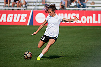 Kansas City, MO - Sunday September 3, 2017: Kelley O'Hara during a regular season National Women's Soccer League (NWSL) match between FC Kansas City and Sky Blue FC at Children's Mercy Victory Field.