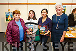 """Kathleen Brown, Muireann Murphy, Úna-Minh and Noreen Kavanagh at the signing of Úna-Minh's book """"Anseo"""" in the Tralee Library on Thursday"""