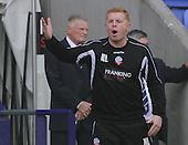 Bolton v Derby. SkyBet Championship. 8/8/15 <br /> <br /> Neil Lennon, Bolton Wanderer's manager shouts.<br /> <br /> Credit: PHSP/Harry McGuire