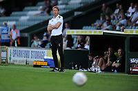 Swansea City manager Graham Potter during the Pre-Season Friendly between Yeovil and Swansea City at Huish Park, Yeovil, England, UK. Tuesday 10 July 2018