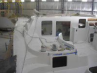 Antares Yacht manufacturing - Buenos Aires, Argentina