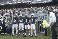 STATE COLLEGE, PA - SEPTEMBER 02:  The Penn State Nittany Lions defeated the Akron Zips 52-0 on September 2, 2017 at Beaver Stadium in State College, PA. (Photo by Randy Litzinger/Icon Sportswire)
