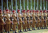 Military parade of Nepalese Army in Kathmandu, Nepal