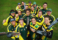 2009 Women's National League Softball champions Hutt Valley, who won the title for the third year running. Hutt Valley v Auckland Angels - National League Softball Championship finals at Fraser Park, Wellington, New Zealand on Sunday 2 February 2009. Photo: Dave Lintott / lintottphoto.co.nz