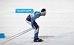 Mark Chanloung (THA). Mens sprint classic qualification. Cross country skiing. Alpensia Croos-Country skiing centre. Pyeongchang2018 winter Olympics. Alpensia. Republic of Korea. 13/02/2018. ~ MANDATORY CREDIT Garry Bowden/SIPPA - NO UNAUTHORISED USE - +44 7837 394578