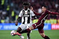 Moise Kean of Juventus , Armando Izzo of Torino <br /> Torino 3-5-2019 Allianz Stadium Football Serie A 2018/2019 Juventus - Torino <br /> Photo Matteo Gribaudi / Image Sport / Insidefoto