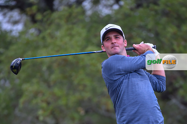 Denny McCarthy (USA) watches his tee shot on 2 during Round 3 of the Valero Texas Open, AT&T Oaks Course, TPC San Antonio, San Antonio, Texas, USA. 4/21/2018.<br /> Picture: Golffile   Ken Murray<br /> <br /> <br /> All photo usage must carry mandatory copyright credit (© Golffile   Ken Murray)