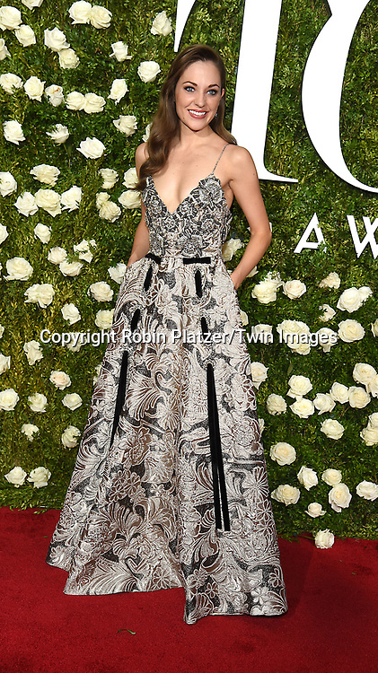 Laura Osnes attends the 71st Annual  Tony Awards on June 11, 2017 at Radio City Music Hall in New York, New York, USA.<br /> <br /> photo by Robin Platzer/Twin Images<br />  <br /> phone number 212-935-0770