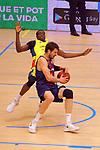 XXXVIII Lliga Nacional Catalana ACB 2017.<br /> FC Barcelona Lassa vs BC Morabanc Andorra: 89-70.<br /> Ante Tomic vs Moussa Diagne.