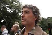 SAO PAULO, SP, 02 JUNHO 2013 - PARADA DO ORGULHO GLBT -  Carlos Gianazzi durante a 17 Parada do Orgulho LGBT na Avenida Paulista, na tarde deste domingo, 02. (FOTO: ADRIANA SPACA/ BRAZIL PHOTO PRESS).