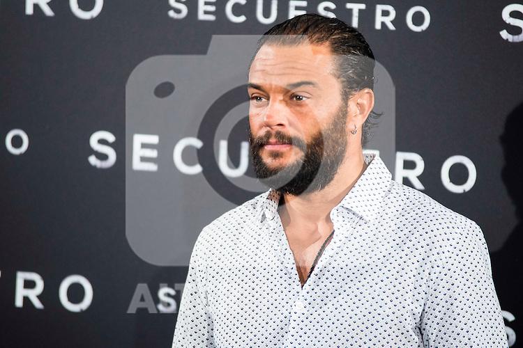 "Paco Manzanedo during the presentation of the spanish film ""Secuestro"" in Madrid. July 27. 2016. (ALTERPHOTOS/Borja B.Hojas)"