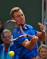 Paris, France, 23 june, 2016, Tennis, Roland Garros, Jack Sock (USA)<br /> Photo: Henk Koster/tennisimages.com