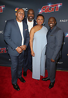 """HOLLYWOOD, CA - SEPTEMBER 10: Voices of Service A Capella Group, at """"America's Got Talent"""" Season 14 Live Show Red Carpet at The Dolby Theatre  in Hollywood, California on September 10, 2019. Credit: Faye Sadou/MediaPunch"""