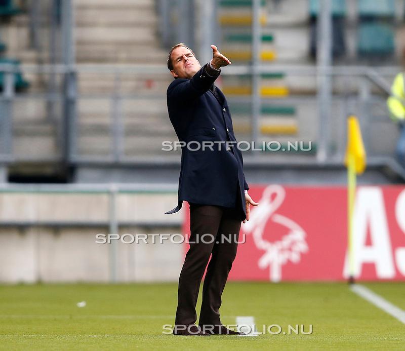 Nederland, Den Haag, 1 december 2013<br /> Eredivisie<br /> Seizoen 2013-2014<br /> ADO Den Haag-Ajax<br /> Frank de Boer, trainer-coach van Ajax in actie