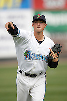 July 6 2009: Bradley Reid of the Everett AquaSox before game against the Yakima Bears at Everett Memorial Stadium in Everett,WA.  Photo by Larry Goren/Four Seam Images